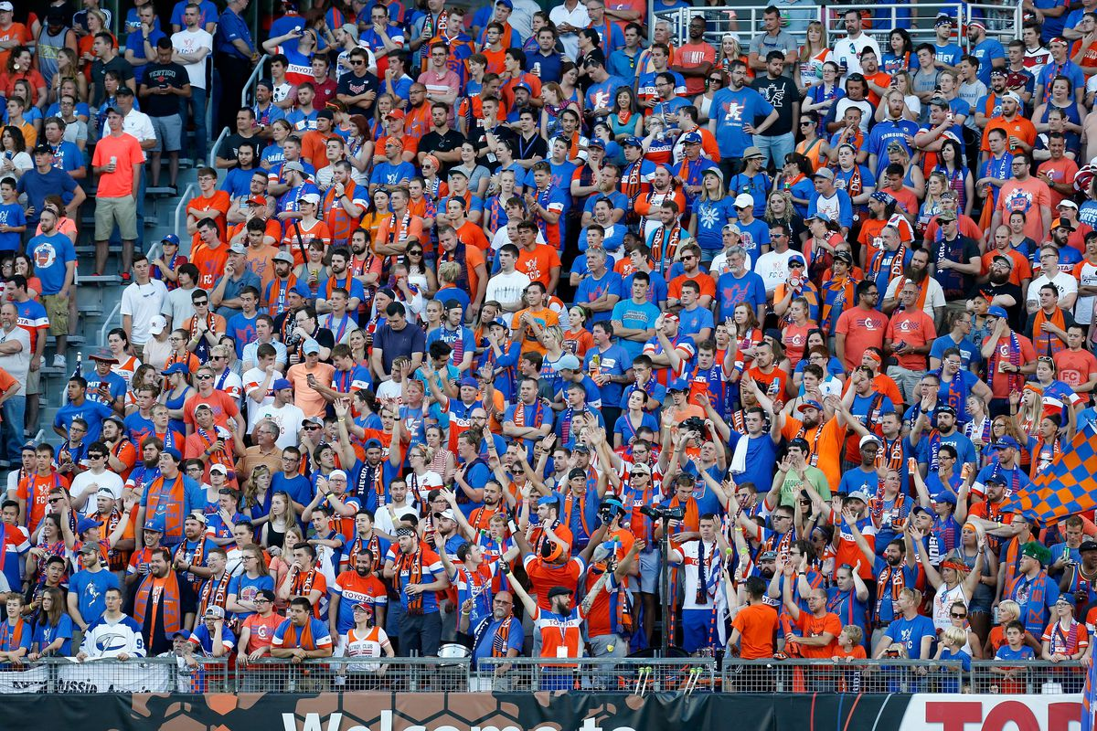 FC Cincinnati drew over 36,000 to their friendly with Crystal Palace in July.