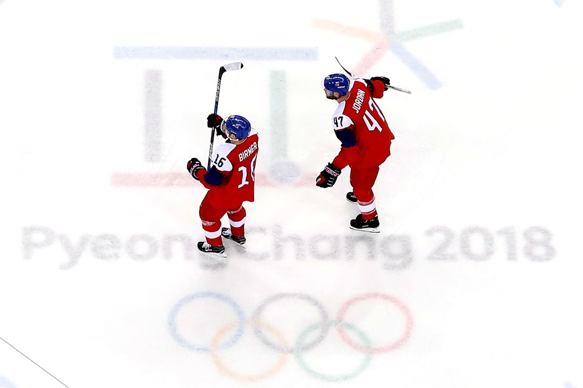 Olympics: Czechs eliminate USA in men's hockey