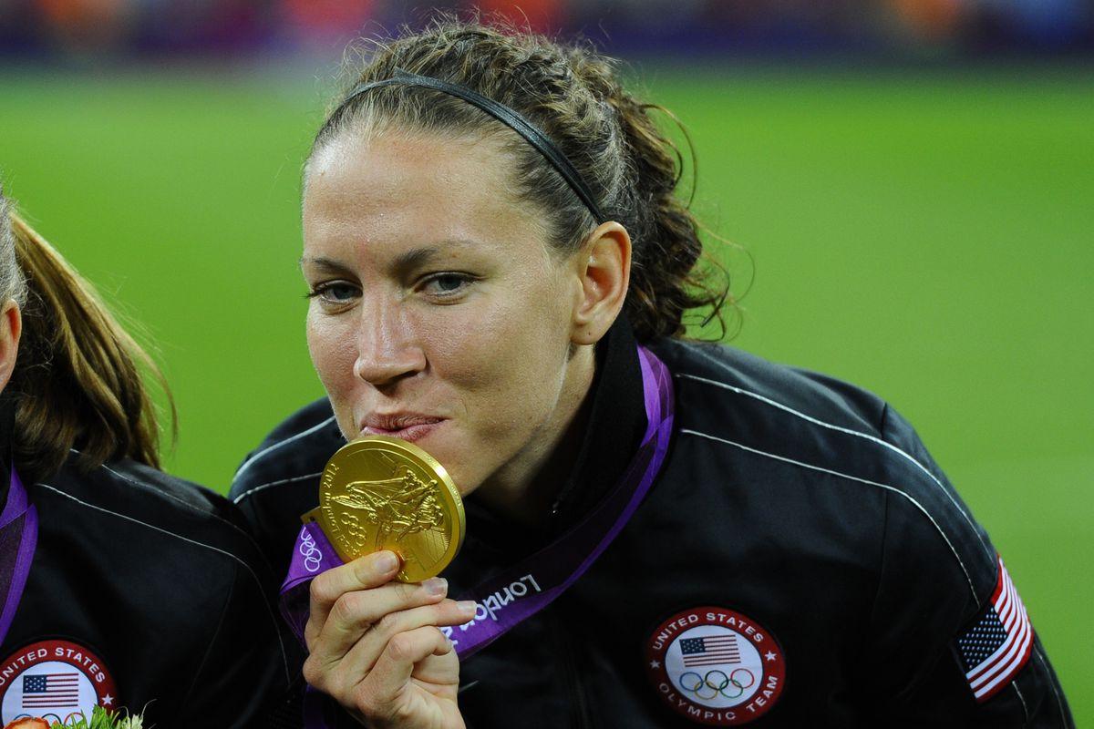 Lauren Cheney loves gold.