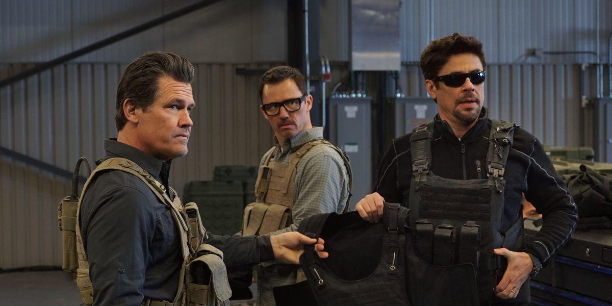 Donovan, Del Toro y Brolin en Sicario: El día del soldado
