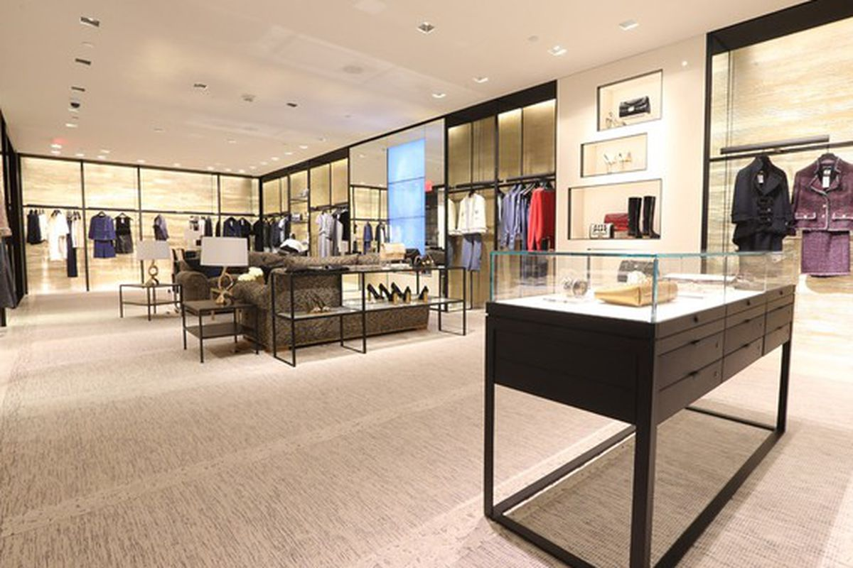 6d85c156b857e3 Behold: the Fancy Makeover of the Chanel Shop at Bloomingdale's ...