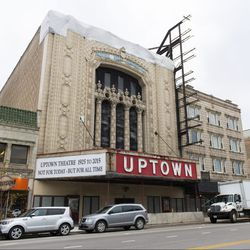 The closed Uptown Theater in Uptown. | Tyler LaRiviere/Sun-Times
