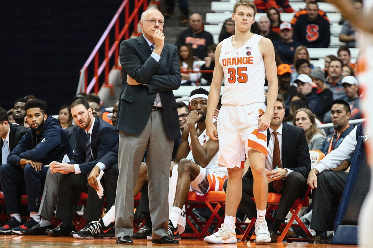 For Syracuse Basketball S Jim And Buddy Boeheim It S Coach Player On The Court And Father Son Off Troy Nunes Is An Absolute Magician