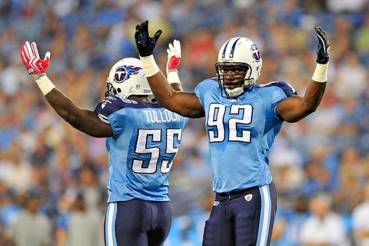 Happy linebackers? Must have been the preseason.