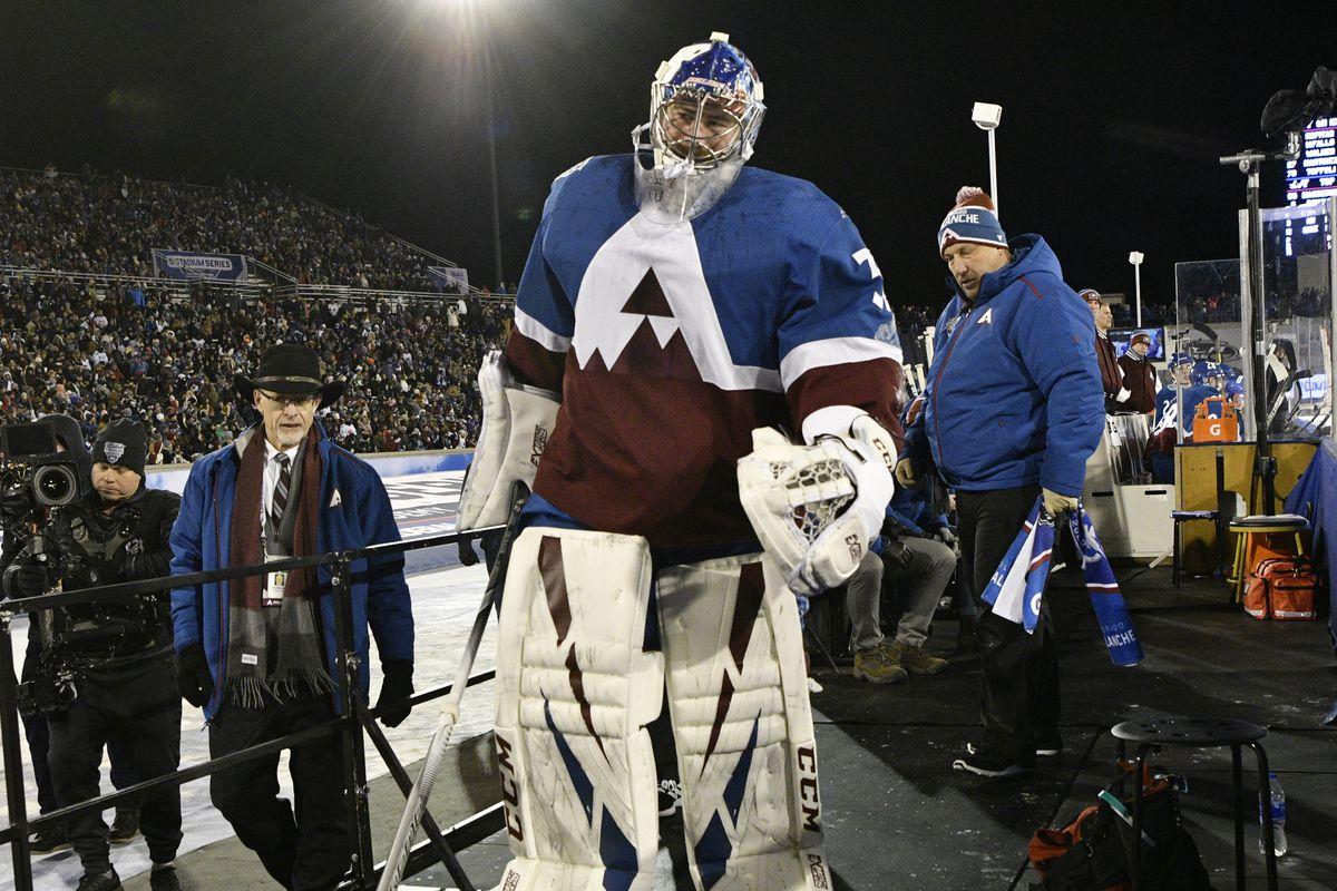 NHL Stadium Series Avalanche vs Kings