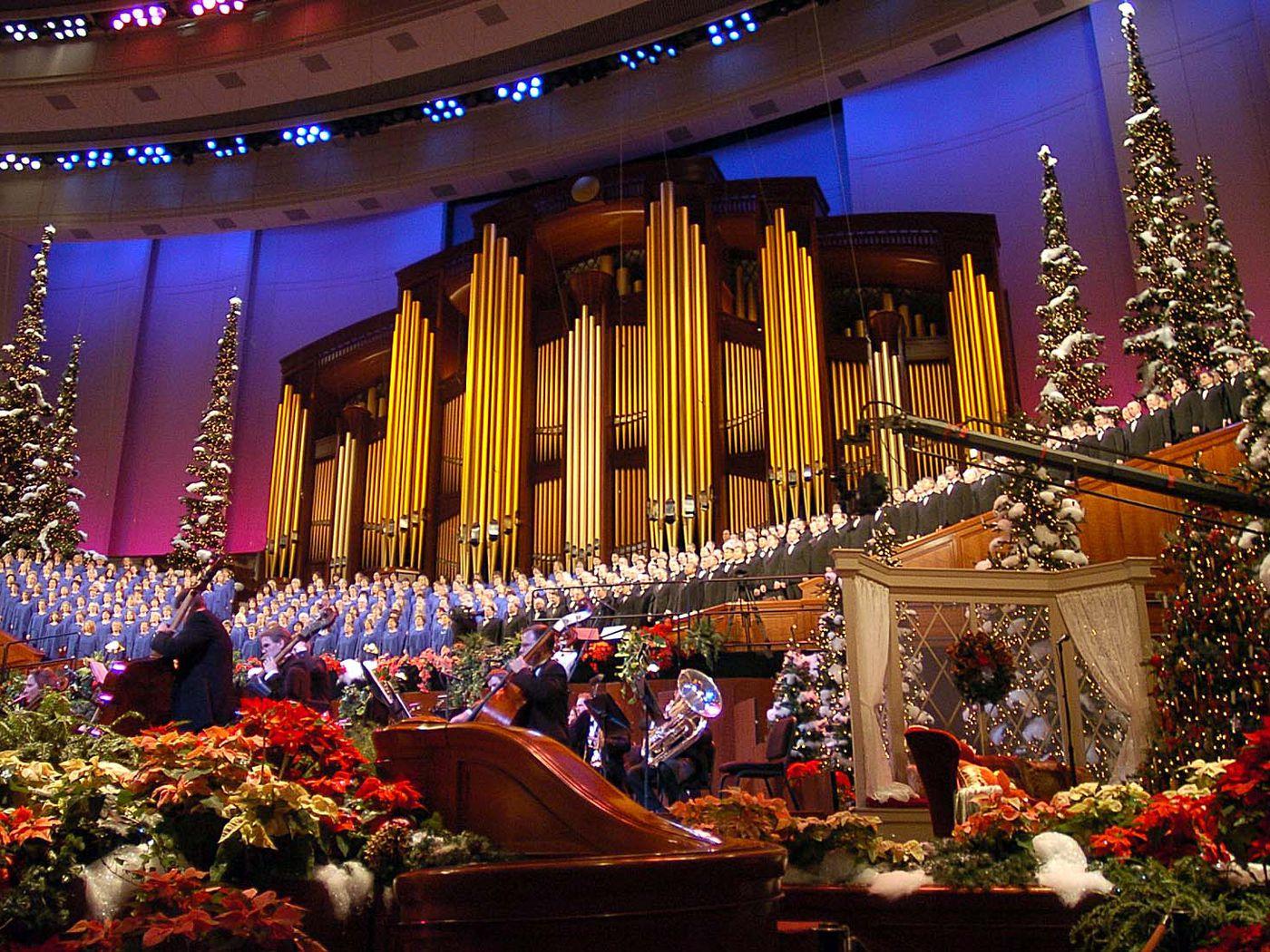 Christmas Show For Mormon Tabernacle Choir 2020 Tabernacle Choir Christmas concert, other 2020 performances