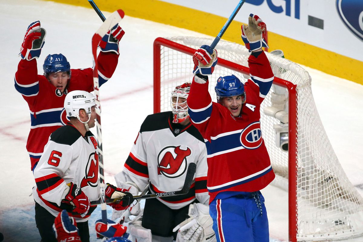 2dbc57c83f4 New Jersey Devils vs. Montreal Canadiens: Game Preview #78 - All ...