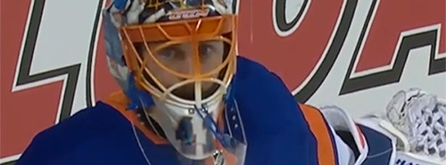 Jaroslav Halak stares into the abyss.