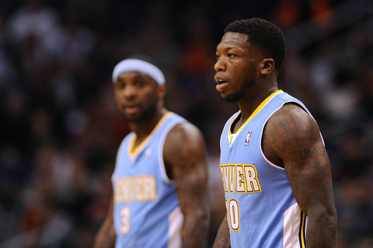 Ty Lawson and Nate Robinson walk the long and winding road