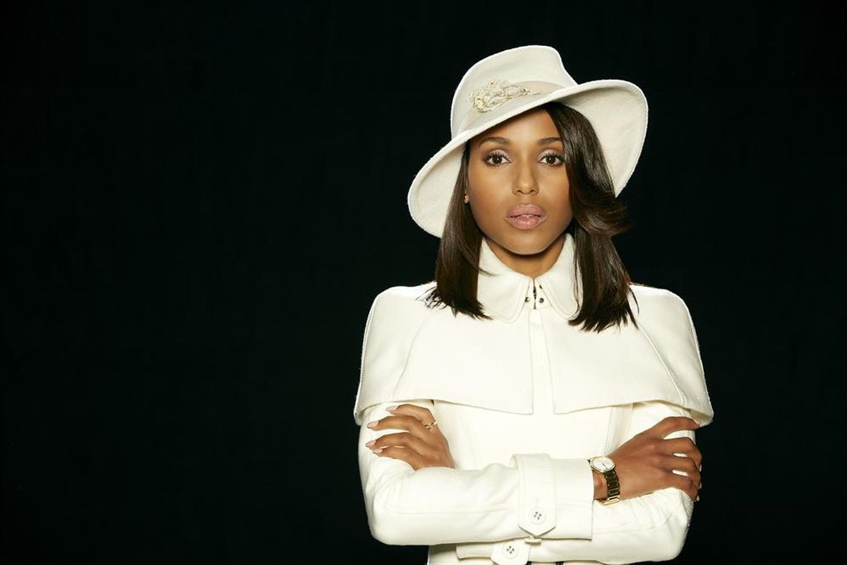 Kerry Washington stars in Scandal. She has a good shot at winning Lead Actress in a Drama.