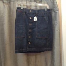 Denim skirt by IT Jeans was $96 is $25