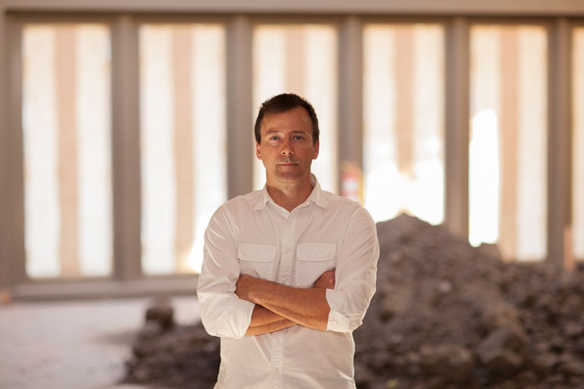 Profile of chef Eric Bost
