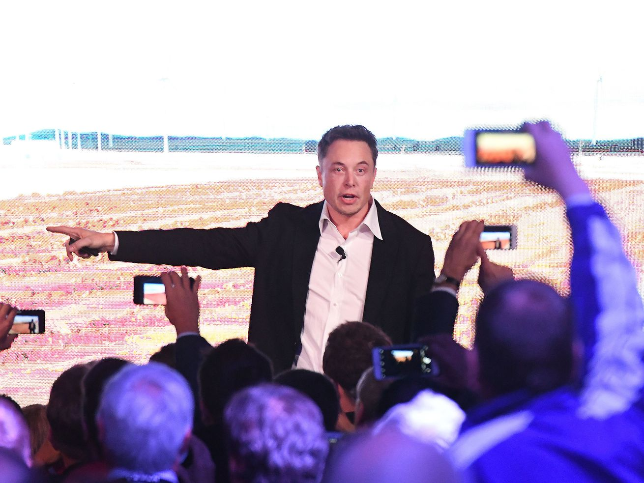 Elon Musk at an event in Adelaide, Australia in 2017.