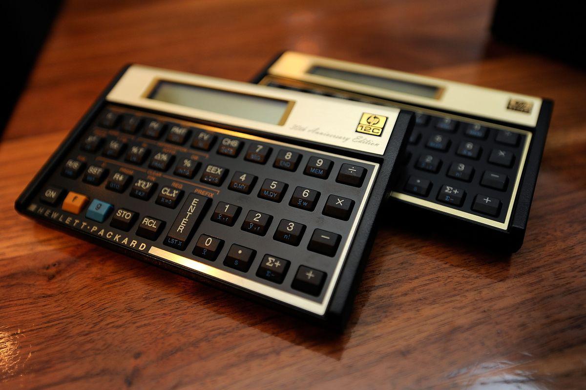 HP Celebrates 30th Anniversary Of The 12c Calculator