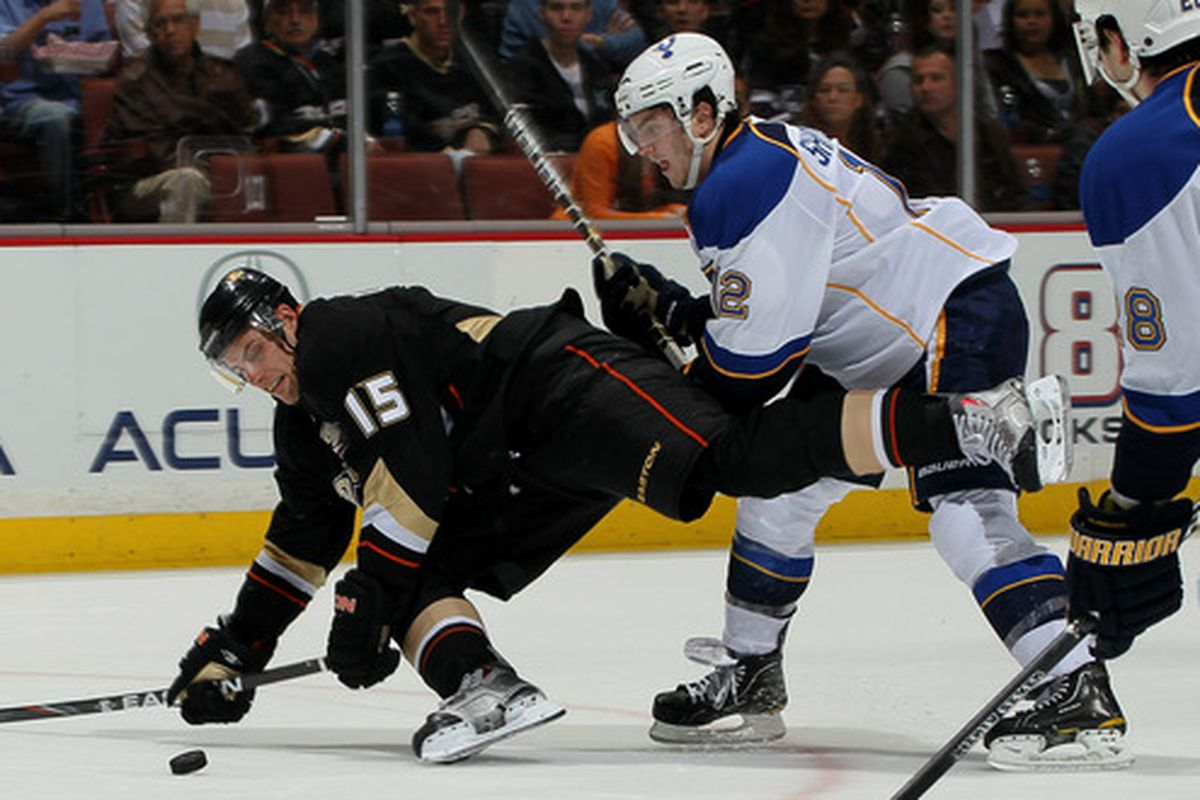 You will never know what $8.25 million feels like. Getzlaf will. About 8 times over. Photo credit