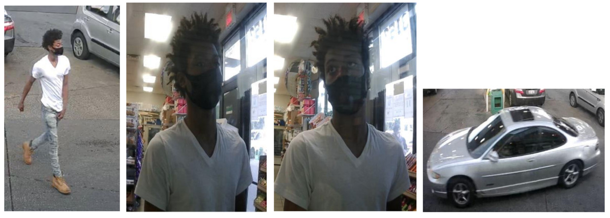 Police released photos of a suspected attacker and the vehicle used in the Sept. 1 murder of Travell Miller.