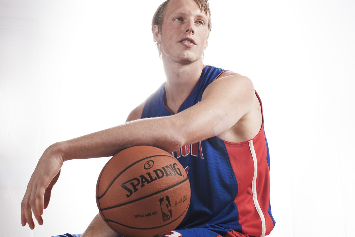 This has nothing to do with the Cavs, but you deserve to see this picture. Jonas Jerebko, there's a new stud in town.