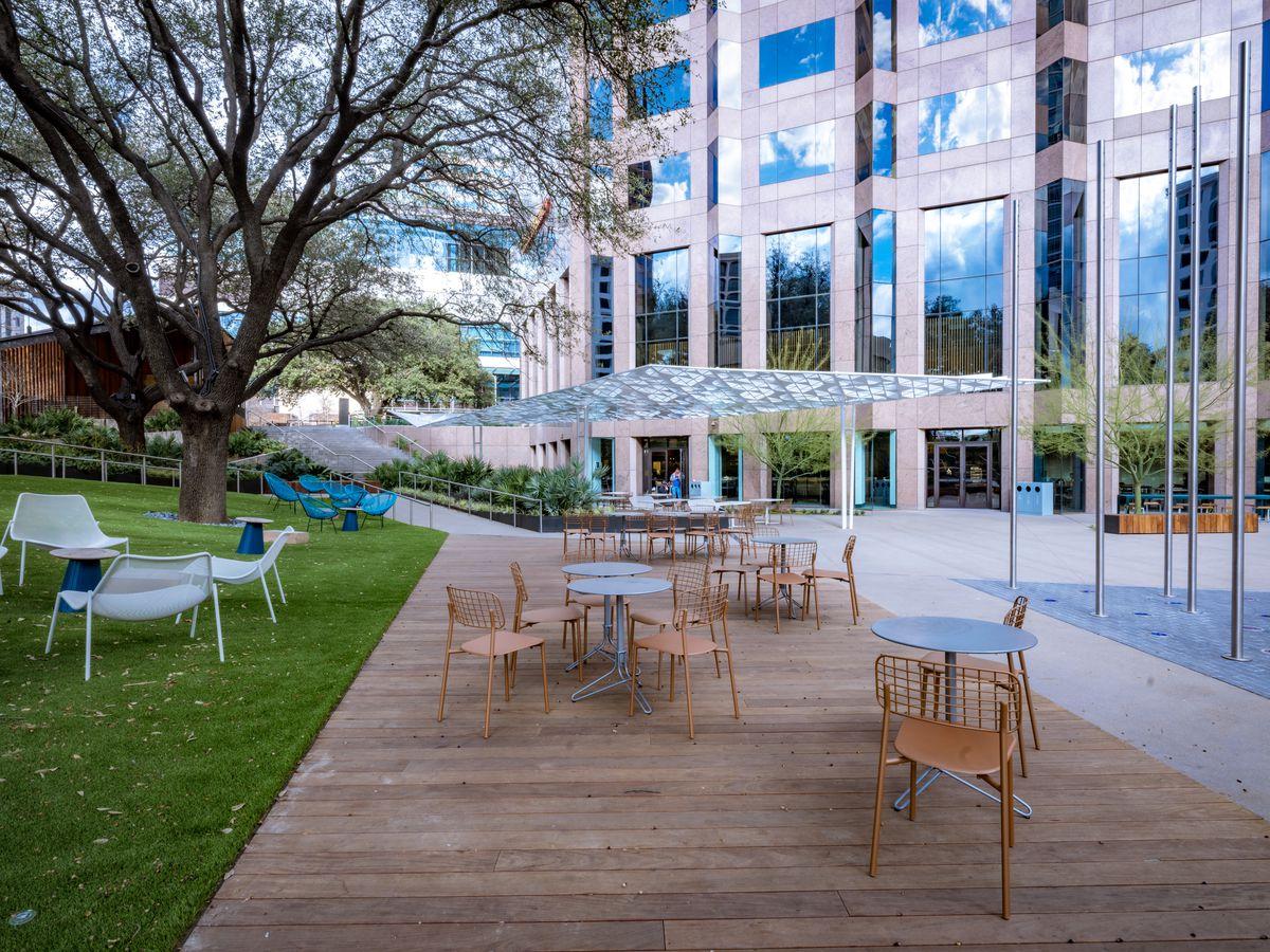 Fareground's outdoor space