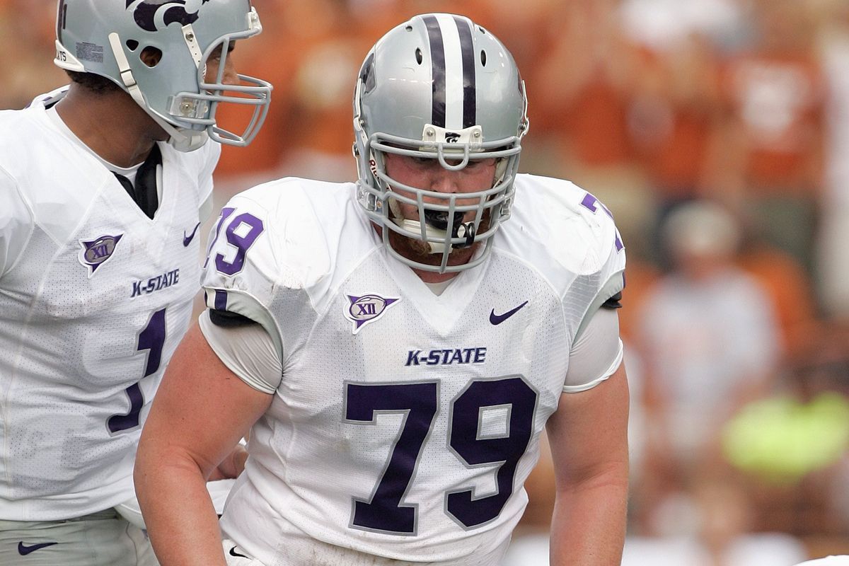 The last really prominent offensive lineman to wear No. 79 was Jordan Bedore. In a few years, Adam Holtorf potentially could make it prominent again.