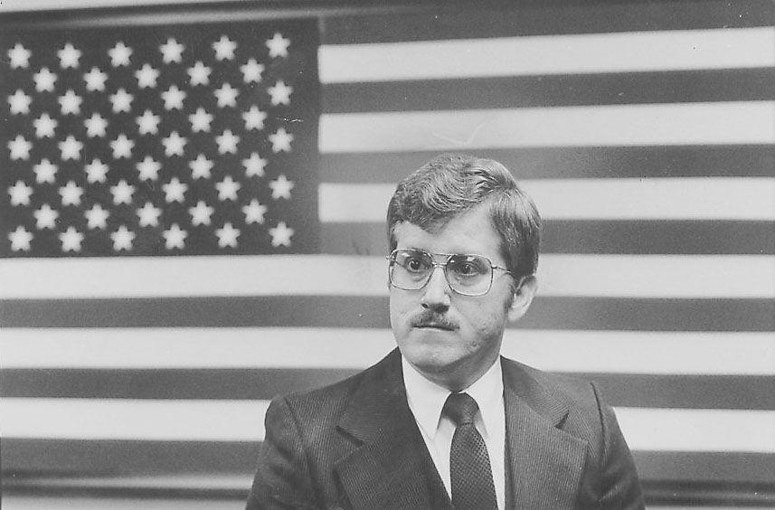 Joseph Martinez, former alderman of the 31st Ward. Sun-Times Photo/ John White in 1981.