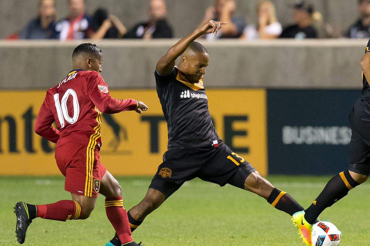 Dynamo tops RSL 5-1 to move into 1st in Western Conference