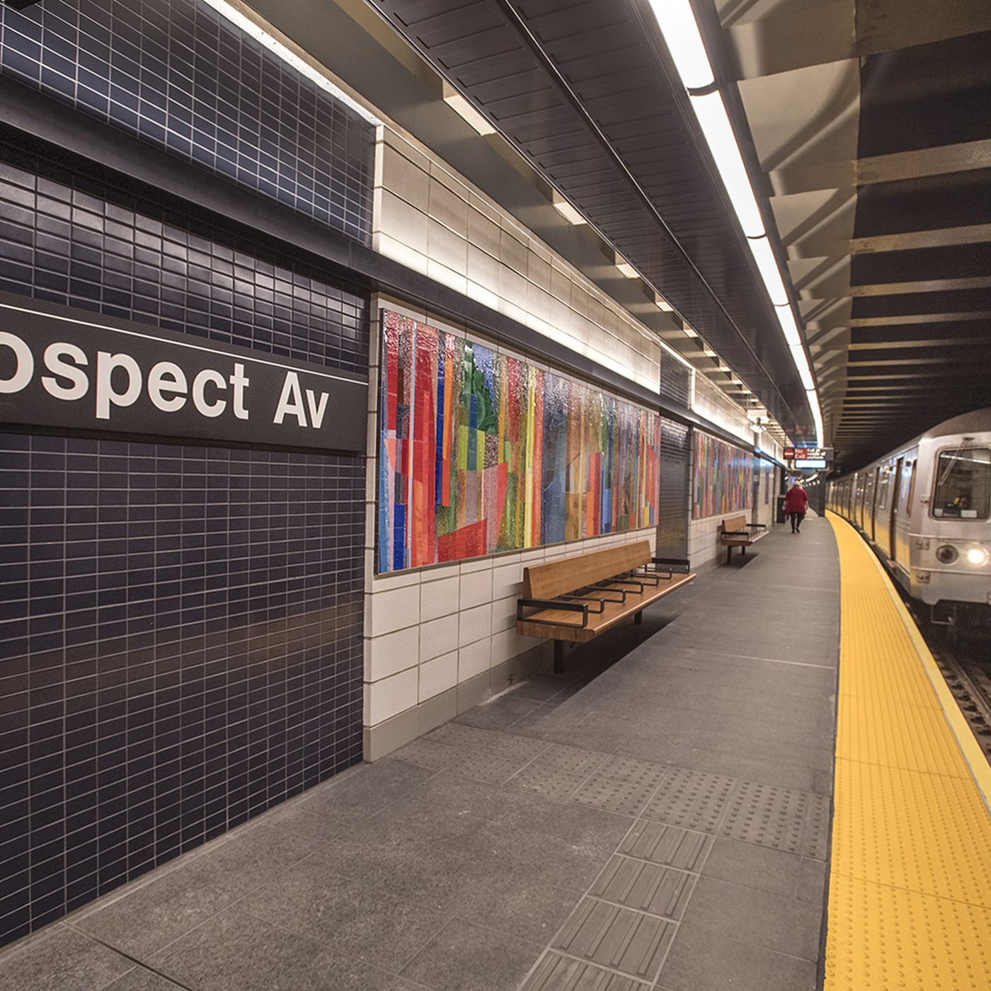 Brooklyn Street Subway Map.Brooklyn S Prospect Ave Subway Station Reopens After Six Month