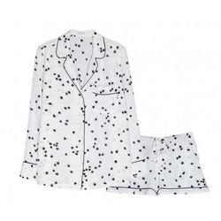 "<b>Equipment</b> Lillian Pajama Set, <a href=""http://www.equipmentfr.com/shop/pajamas/lillian-pajama-set-bright-white-stars"">$388</a>"