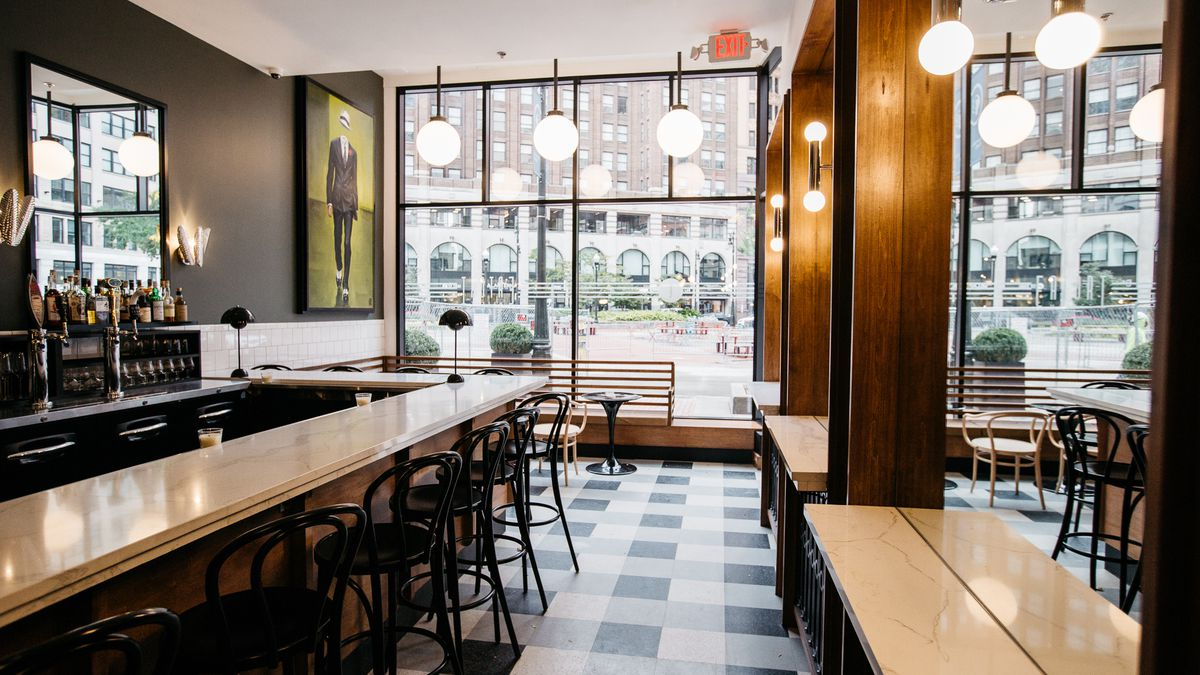 Step Inside Capitol Park\'s Stylish New Market and Bar - Eater Detroit