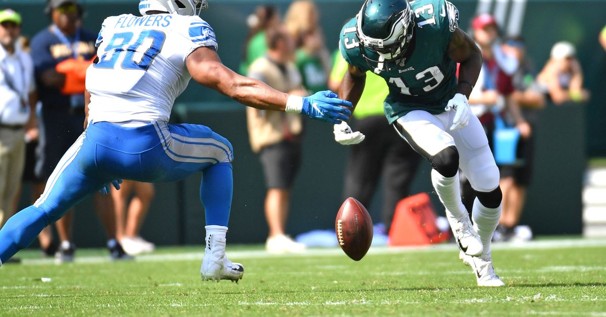 7 thoughts on the Eagles' frustrating loss to the Lions
