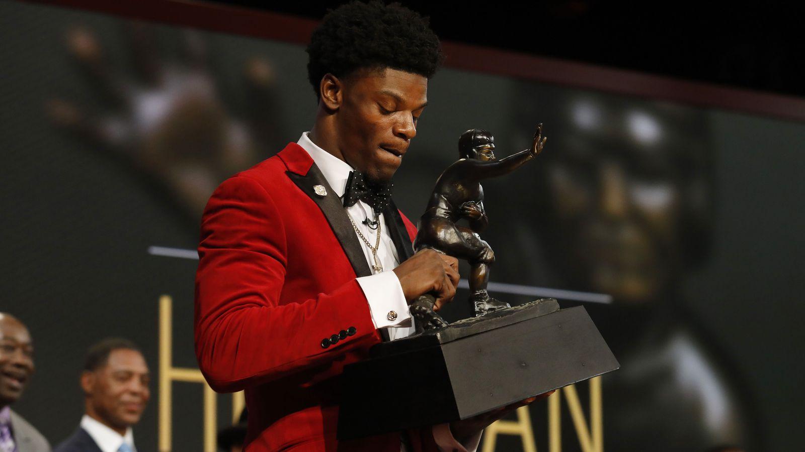 heisman trophy acceptance speech
