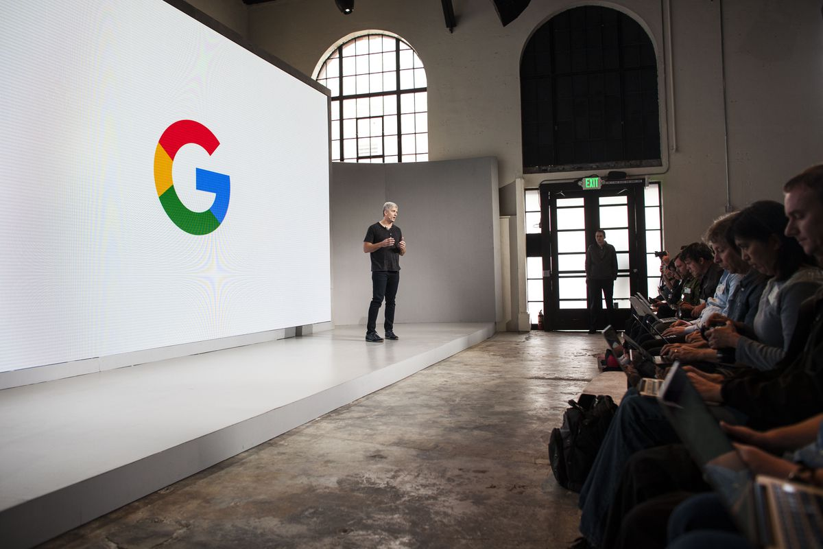 Google unveiled new products, including the Pixel phone at its hardware event last year.