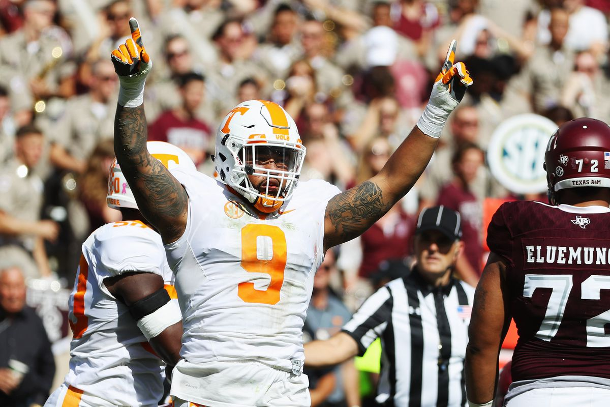 bf2f1172907 The Tennessee Vols just had an NFL draft pick for the first time since  *2014*