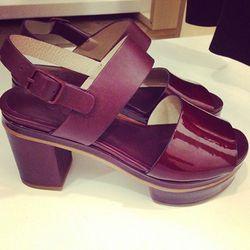 Heeled sandals, $190