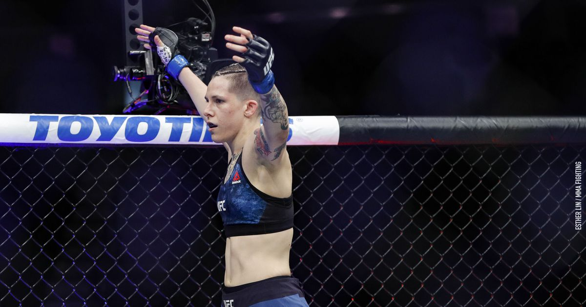Macy Chiasson says UFC Vegas 32 withdrawal was due to stress fracture in foot