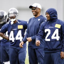 Sherman Smith and Lynch laugh it up