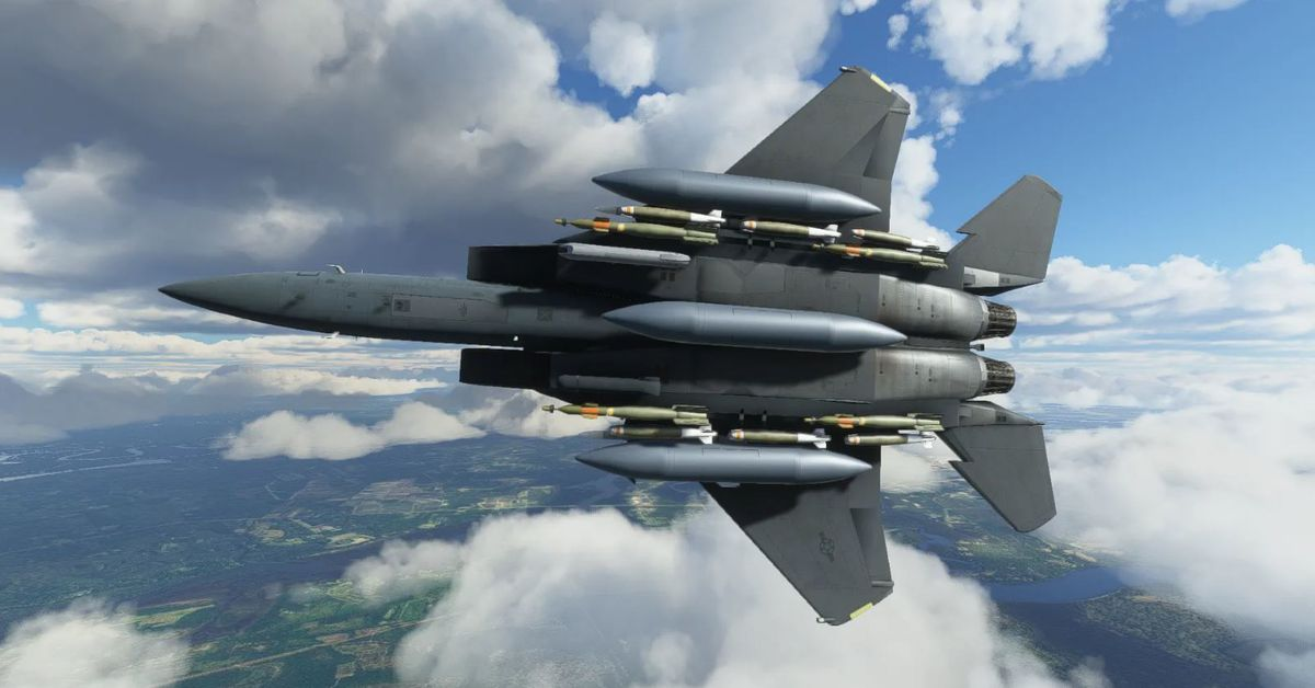 Microsoft Flight Simulator gets an F-15 add-on later this month – Polygon