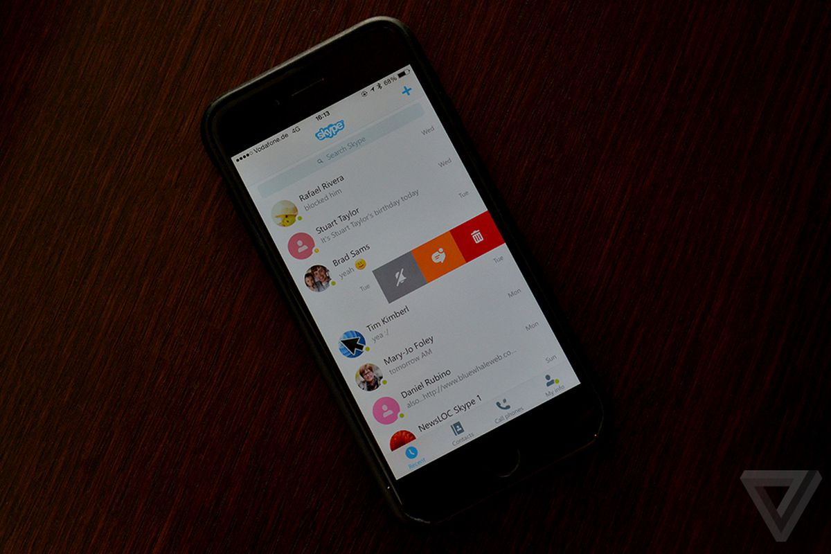 Skype For Ios And Android Drops Windows Phone Like Design
