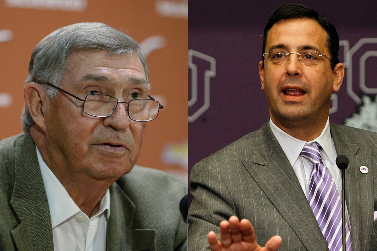 Chris Del Conte convinced Deloss Dodds to let TCU into the Big 12 over five hours of drinks in Austin.