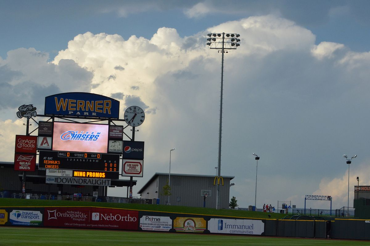 Werner Park in Omaha will host Games 1 and 2 of the PCL Championship Series