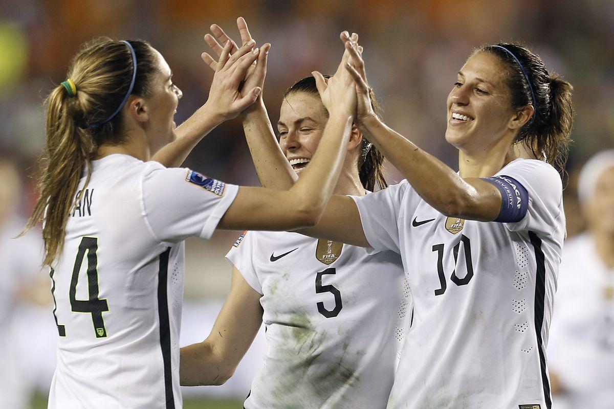 Soccer: 2016 CONCACAF Women's Olympic Qualifying - USA vs Trinidad & Tobago