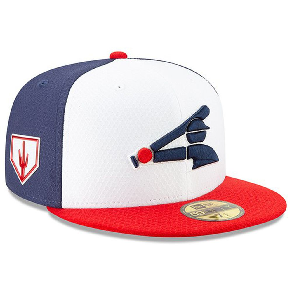 4318e527ce5 Chicago White Sox New Era 2019 Spring Training 59FIFTY Fitted Hat –  White Red