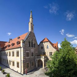 The Augustinian Monastery in Erfurt was where Martin Luther took his vows as a monk in 1505.