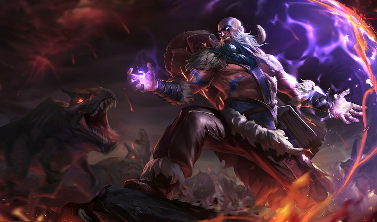 Ryze And Brand Face Off In The Latest Lore Update