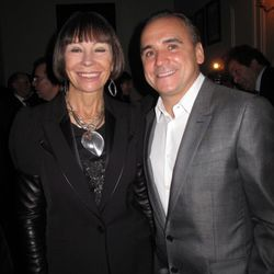 Jean Georges, with woman and suit.