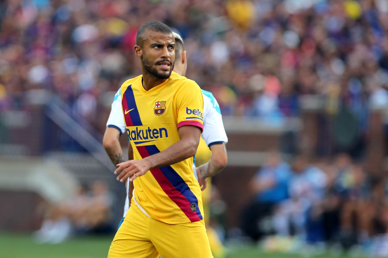 Valencia back off again, Rafinha to Serie A""