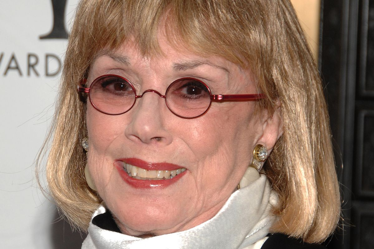 In this Sunday, June 7, 2009, file photo, actor Phyllis Newman arrives at the 63rd Annual Tony Awards in New York.