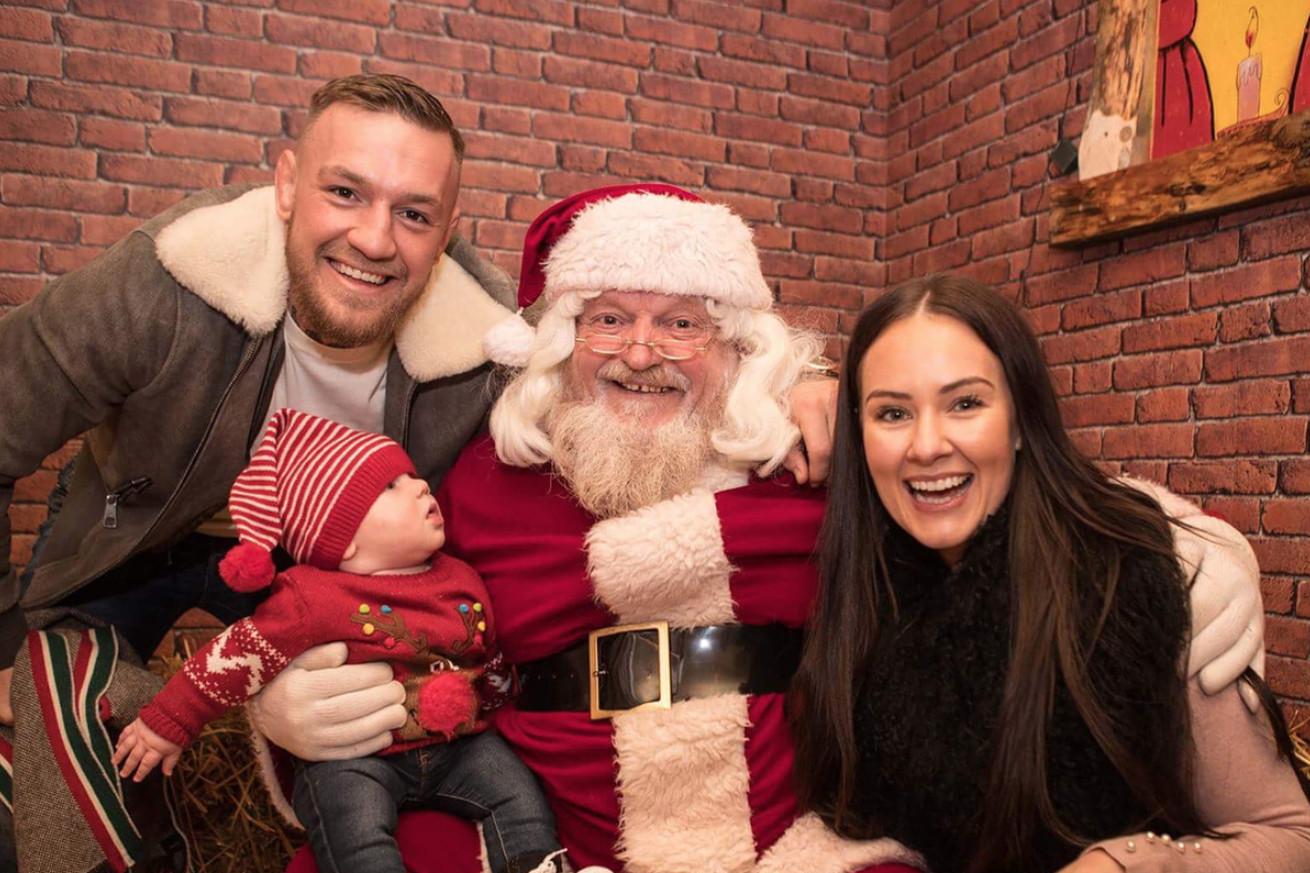 The Weekly Grind: Conor McGregor meets Santa Claus, Derrick Lewis roasts Colby Covington