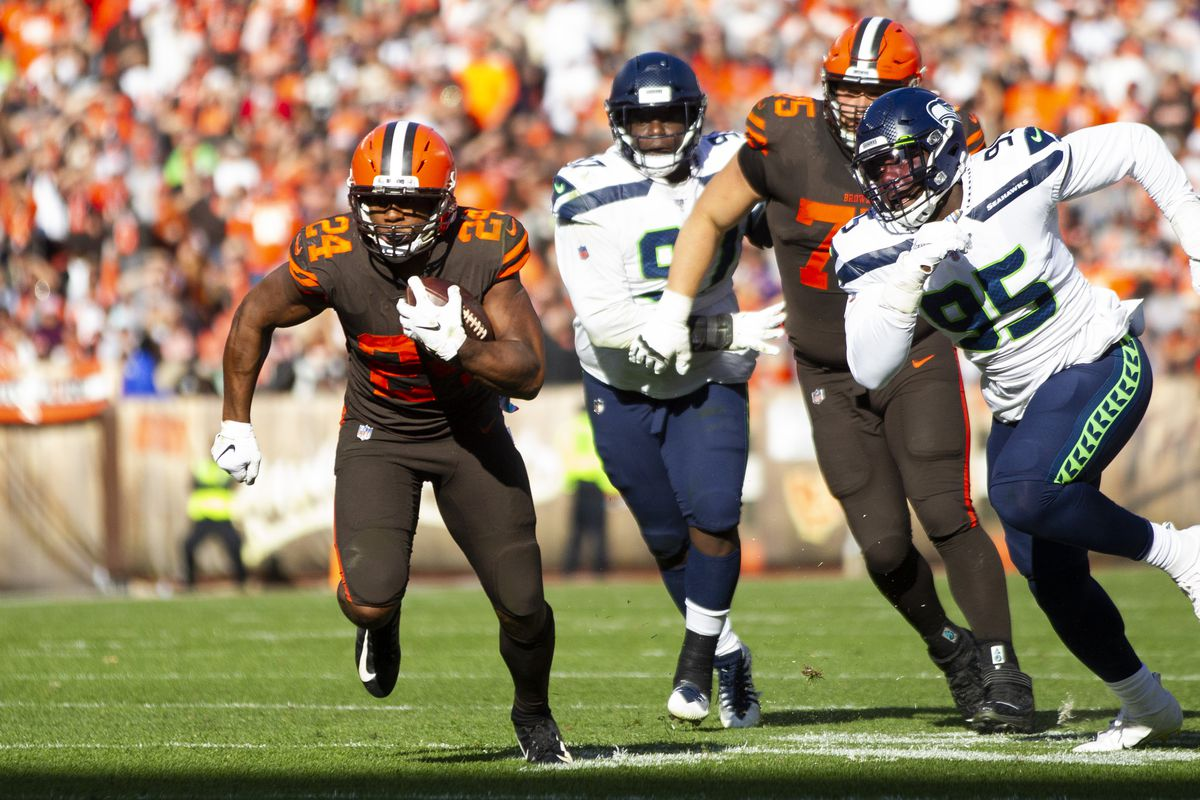 NFL: Seattle Seahawks at Cleveland Browns