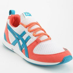 """<b>Asics</b> Ult Racer Running Sneaker at <b>Urban Outfitters</b>, <a href=""""http://www.urbanoutfitters.com/urban/catalog/productdetail.jsp?id=29970787&parentid=W_SHOES_SNEAKERS&color=095"""">$75</a>"""