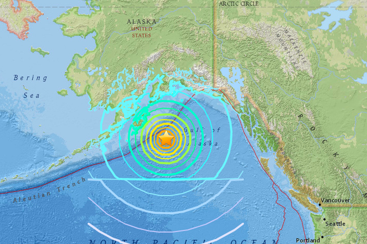 A powerful earthquake in Alaska didn't trigger a big tsunami